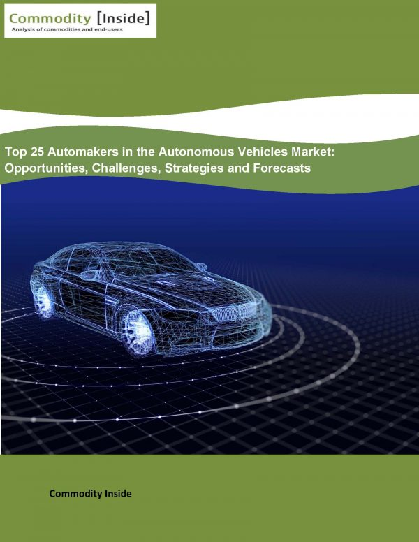 Top 25 Automakers in the Autonomous Vehicles Market Opportunities, Challenges, Strategies and Forecasts
