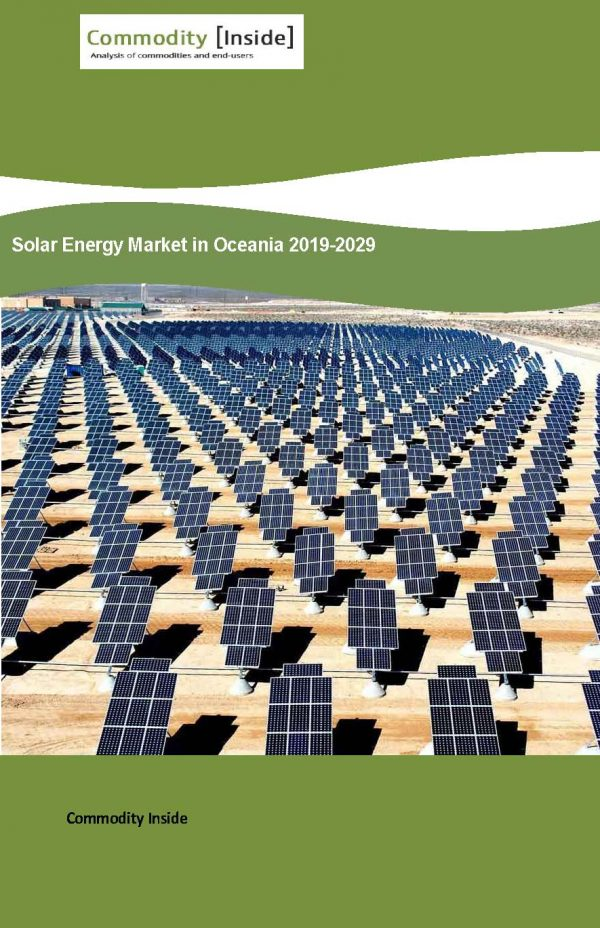 Solar Energy Market in Oceania 2019-2029