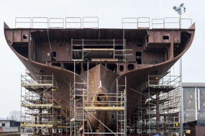 Steel Plate in shipbuilding