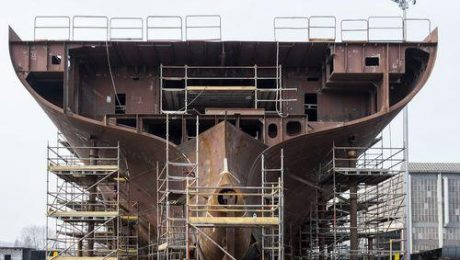 Steel Plate in shipbuilding
