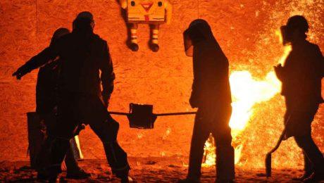 Decarbonising steel industry