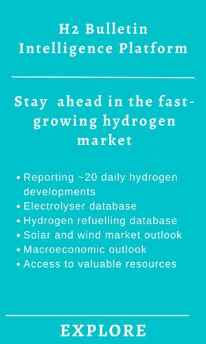 Hydrogen industry data